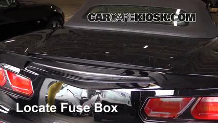 2015 Chevrolet Corvette Stingray 6.2L V8 Convertible Fuse (Interior)