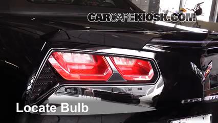 2015 Chevrolet Corvette Stingray 6.2L V8 Convertible Lights