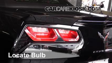 2015 Chevrolet Corvette Stingray 6.2L V8 Convertible Lights Reverse Light (replace bulb)
