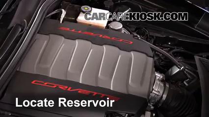 2015 Chevrolet Corvette Stingray 6.2L V8 Convertible Windshield Washer Fluid