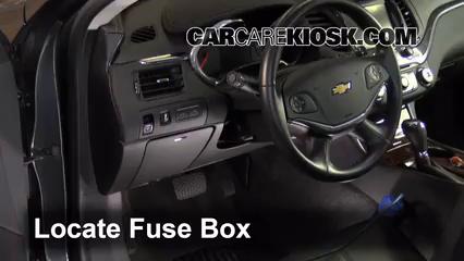 2015 Chevrolet Impala LT 2.5L 4 Cyl. Fusible (intérieur)