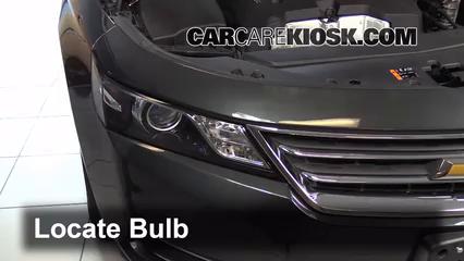 2015 Chevrolet Impala LT 2.5L 4 Cyl. Lights Headlight (replace bulb)