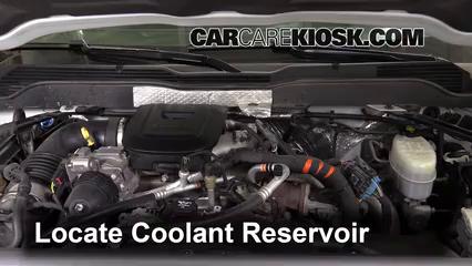 2015 Chevrolet Silverado 2500 HD LT 6.6L V8 Turbo Diesel Crew Cab Pickup Coolant (Antifreeze)