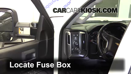 2015 Chevrolet Silverado 2500 HD LT 6.6L V8 Turbo Diesel Crew Cab Pickup Fuse (Interior)