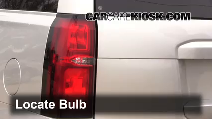 2015 Chevrolet Suburban LT 5.3L V8 FlexFuel Lights Turn Signal - Rear (replace bulb)