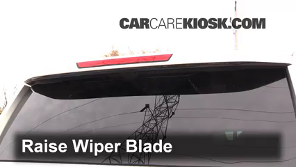 2015 Chevrolet Suburban LT 5.3L V8 FlexFuel Windshield Wiper Blade (Rear)