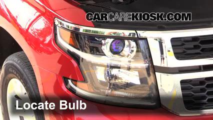 2015 Chevrolet Tahoe LT 5.3L V8 FlexFuel Lights Parking Light (replace bulb)