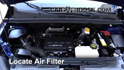 2015 Chevrolet Trax LTZ 1.4L 4 Cyl. Turbo Air Filter (Engine)
