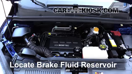 2015 Chevrolet Trax LTZ 1.4L 4 Cyl. Turbo Brake Fluid