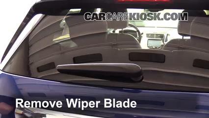 2015 Chevrolet Trax LTZ 1.4L 4 Cyl. Turbo Windshield Wiper Blade (Rear)