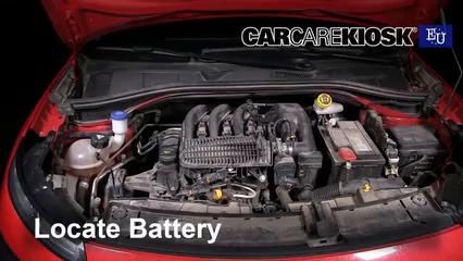 2015 Citroen C4 Cactus Feal 1.2L 3 Cyl. Turbo Battery