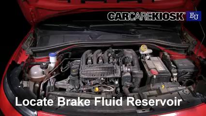2015 Citroen C4 Cactus Feal 1.2L 3 Cyl. Turbo Brake Fluid