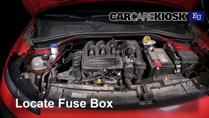 2015 Citroen C4 Cactus Feal 1.2L 3 Cyl. Turbo Fuse (Engine)