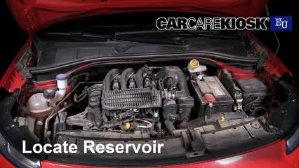 2015 Citroen C4 Cactus Feal 1.2L 3 Cyl. Turbo Windshield Washer Fluid