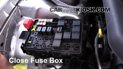 replace a fuse: 2008-2019 dodge challenger - 2015 dodge challenger sxt plus  3.6l v6 flexfuel  carcarekiosk