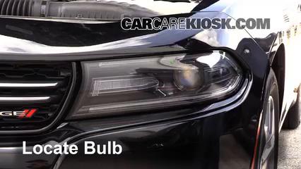 2015 Dodge Charger SE 3.6L V6 FlexFuel Lights Highbeam (replace bulb)