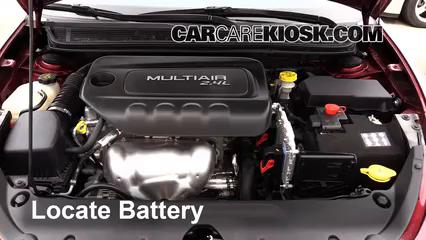2015 Dodge Dart SXT 2.4L 4 Cyl. Battery