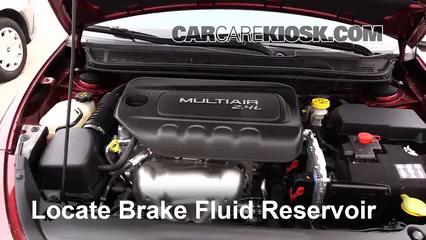 2015 Dodge Dart SXT 2.4L 4 Cyl. Brake Fluid