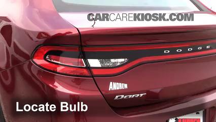 2015 Dodge Dart SXT 2.4L 4 Cyl. Lights