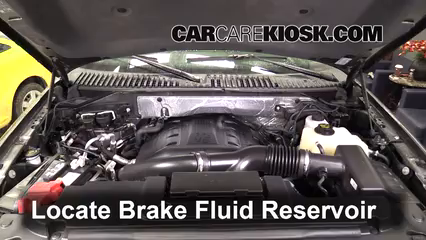 2015 Ford Expedition Platinum 3.5L V6 Turbo Brake Fluid Check Fluid Level
