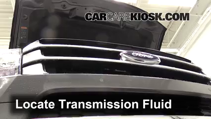 2015 Ford Expedition Platinum 3.5L V6 Turbo Transmission Fluid Add Fluid