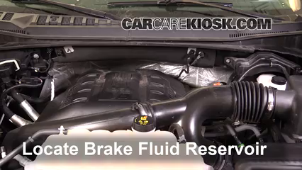 2015 Ford F-150 XLT 3.5L V6 Turbo Crew Cab Pickup Liquide de frein Ajouter du liquide