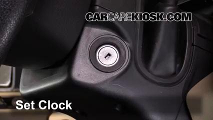 2015 Ford F-150 XLT 3.5L V6 Turbo Crew Cab Pickup Horloge Régler l'horloge