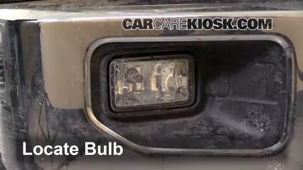 2015 Ford F-150 XLT 3.5L V6 Turbo Crew Cab Pickup Éclairage Feu antibrouillard (remplacer l'ampoule)