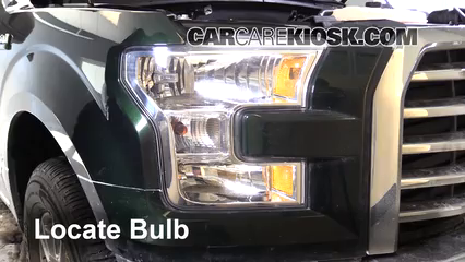 2015 Ford F-150 XLT 3.5L V6 Turbo Crew Cab Pickup Éclairage Feux de stationnement
