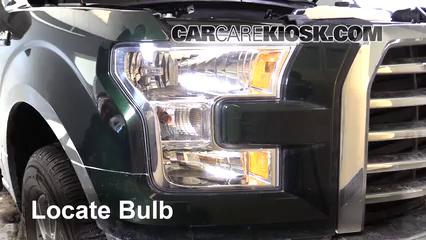 2015 Ford F-150 XLT 3.5L V6 Turbo Crew Cab Pickup Éclairage Feu clignotant avant (remplacer l'ampoule)
