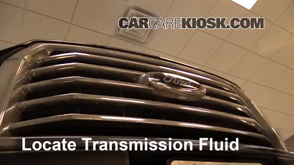 2015 Ford F-150 XLT 3.5L V6 Turbo Crew Cab Pickup Liquide de transmission Rajouter du liquide