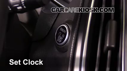 2015 Ford Focus Titanium 2.0L 4 Cyl. FlexFuel Sedan Reloj