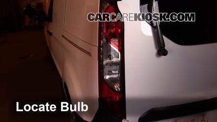 2015 Ford Transit Connect XL 2.5L 4 Cyl. Mini Cargo Van Luces Luz de reversa (reemplazar foco)
