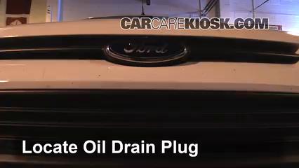 2015 Ford Transit Connect XL 2.5L 4 Cyl. Mini Cargo Van Aceite Cambiar aceite y filtro de aceite