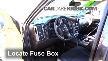 2015 GMC Sierra 1500 SLE 5.3L V8 FlexFuel Extended Cab Pickup Fusible (interior)