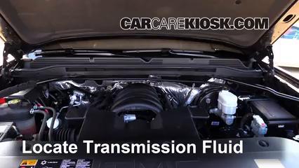 2015 GMC Sierra 1500 SLE 5.3L V8 FlexFuel Extended Cab Pickup Líquido de transmisión
