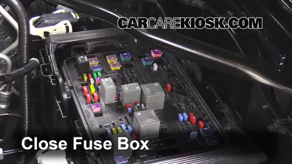 replace a fuse: 2015-2019 gmc sierra 2500 hd - 2015 gmc sierra 2500 hd 6.0l  v8 flexfuel extended cab pickup  carcarekiosk