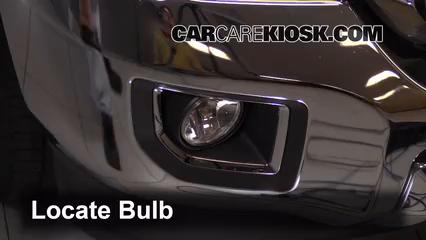 2015 GMC Sierra 2500 HD 6.0L V8 FlexFuel Extended Cab Pickup Luces Luz de niebla (reemplazar foco)