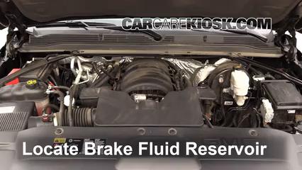 2015 GMC Yukon XL SLT 5.3L V8 FlexFuel Brake Fluid