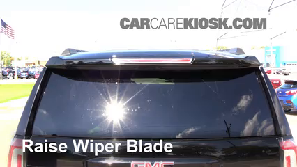 2015 GMC Yukon XL SLT 5.3L V8 FlexFuel Windshield Wiper Blade (Rear)