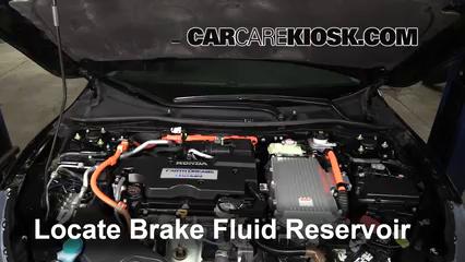 2015 Honda Accord Hybrid Touring 2.0L 4 Cyl. Brake Fluid