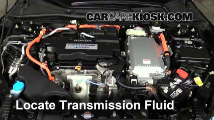 2015 Honda Accord Hybrid Touring 2.0L 4 Cyl. Transmission Fluid