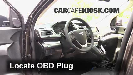 2015 Honda CR-V EX 2.4L 4 Cyl. Lumière « Check engine » du moteur