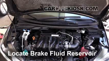 2015 Honda Fit EX 1.5L 4 Cyl. Brake Fluid