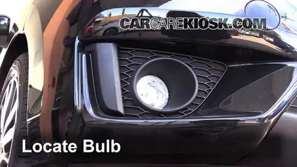 2015 Honda Fit EX 1.5L 4 Cyl. Luces Luz de niebla (reemplazar foco)