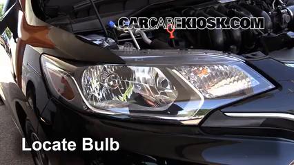 2015 Honda Fit EX 1.5L 4 Cyl. Luces Luz de carretera (reemplazar foco)