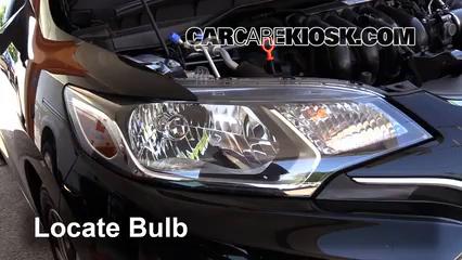 2015 Honda Fit EX 1.5L 4 Cyl. Luces Luz de giro delantera (reemplazar foco)