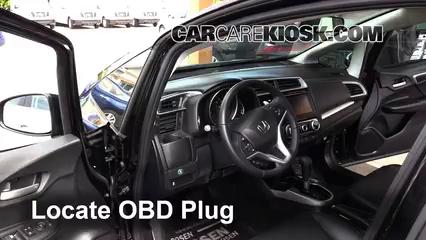 2015 Honda Fit EX 1.5L 4 Cyl. Compruebe la luz del motor Diagnosticar