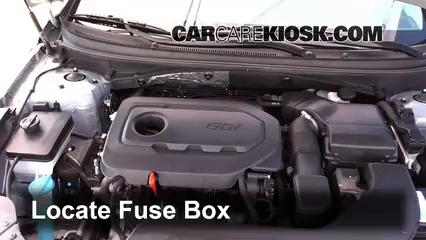 2015 Hyundai Sonata SE 2.4L 4 Cyl. Fusible (motor)