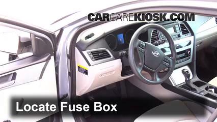 2015 Hyundai Sonata SE 2.4L 4 Cyl. Fusible (interior)
